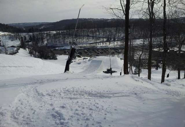 Biggest jump ever!!! Also the kids hitting them are about 12 years old!
