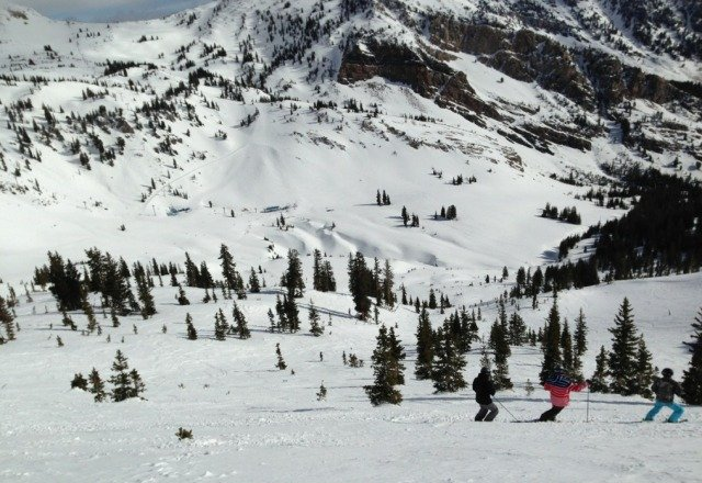 Solid day here. best snow conditions compared to alta and canyons