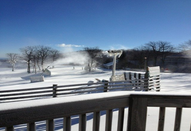 this was how it looked as of saturday afternoon.  its looking more like winter!????