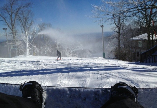 Good conditions, barely any lines, good day!