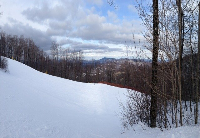 even on this holiday weekend some runs were deserted. Great day.