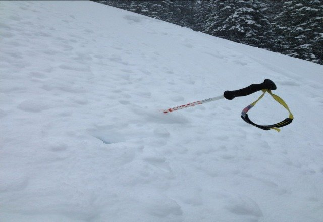 Oh yeah---its getting deep up here!