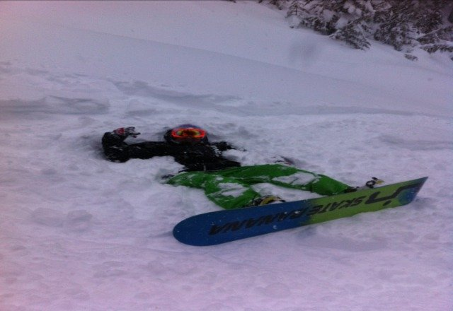 so good today! windy but powder all day...tomorrow will be the best cus none touched upper today...