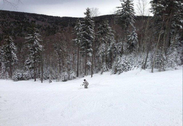 Was in Snowshoe over New Years... Best skiing I've had on the East Coast. Snow was fresh and soft. Excellent mountain and good conditions!