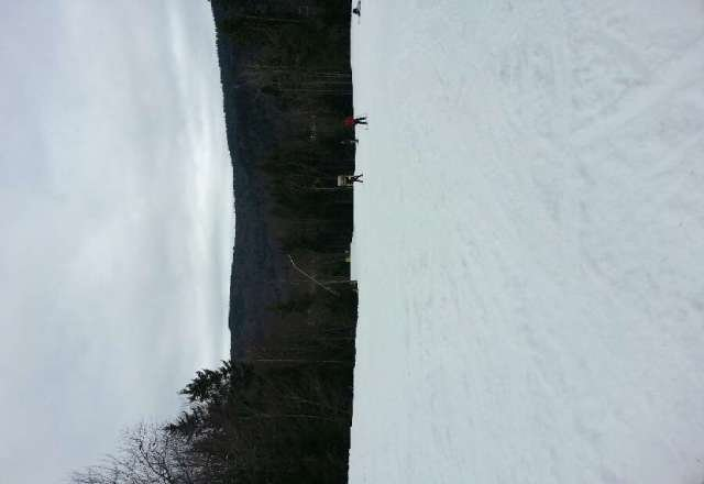 despite all the closed slopes and melting snow it was still fun.