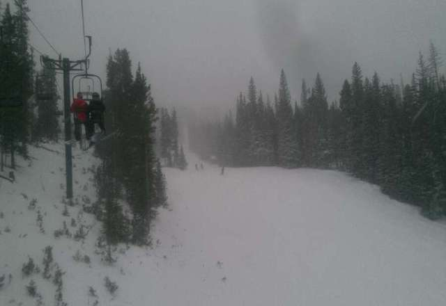 great day... powder in the am