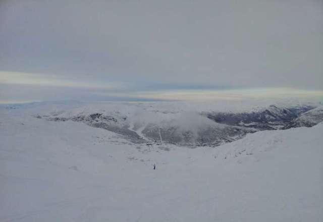 2.12.2012.  Bra forhold.. Godt med sne i Skaanebollen, men kaldt.
