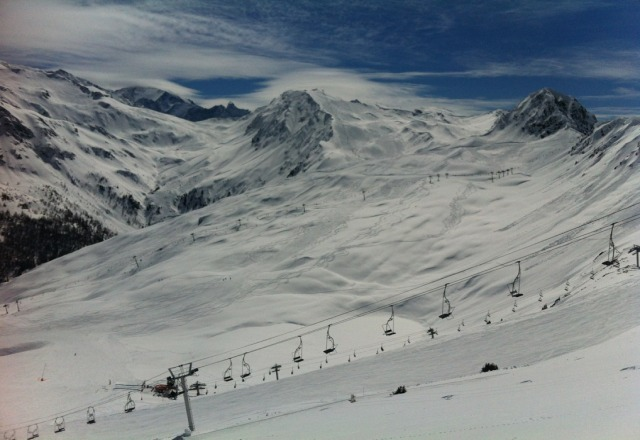 brilliant snow with great weather, but getting warmer. 2 weeks of the season left...