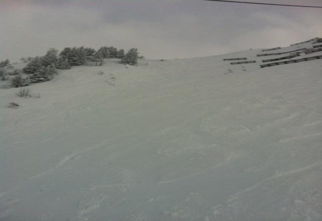 heute 10-20cm Neuschnee und am Nachmittag sogar noch einzelne Sonnenstrahlen - einfach super