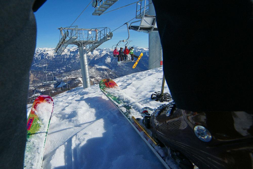 Parés pour une belle journée de ski à Puy St Vincent ? - © Rogier Van Rijn