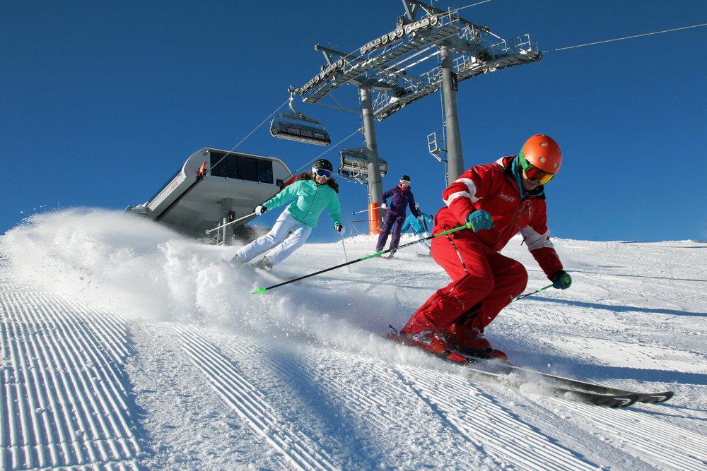 Skifahren in Flachau - © Tourismusverband Flachau