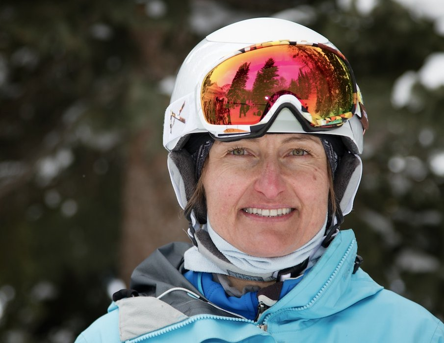 Susi Muecke: Grew up skiing in Germany and the Swiss Alps, PSIA Level II instructor at Snowbird - © Liam Doran