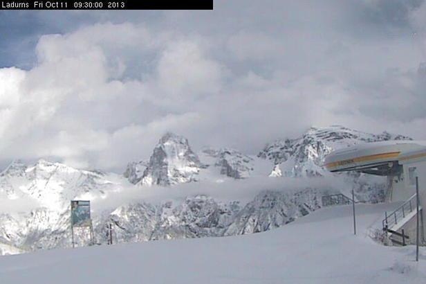 Neve fresca di Ottobre - Ladurns, Alto Adige