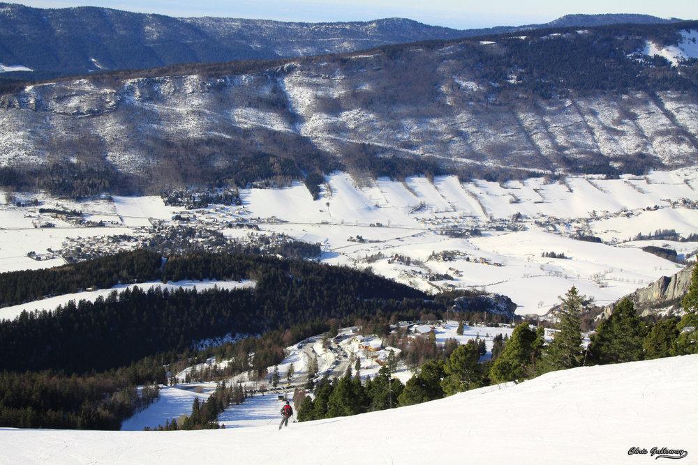 Domaine skiable de Lans en Vercors - © Montagne de Lans