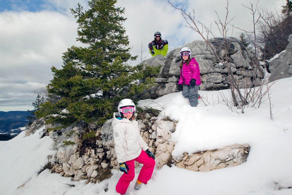 Lans en Vercors, un véritable terrain de jeu pour les enfants - © Montagne de Lans