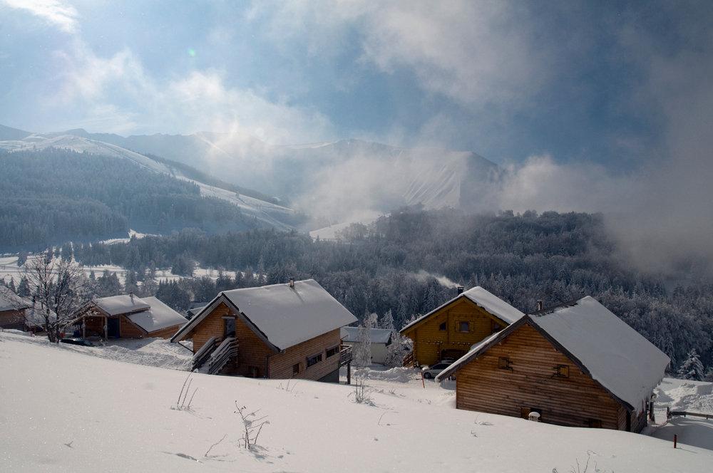 Séjour en chalet à l'Alpe du Grand Serre - © Christophe STAGNETTO