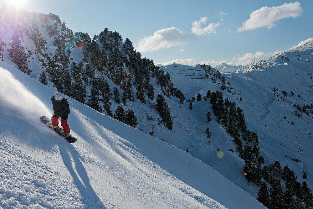 Mutprobe auf der Harakiri-Piste - © Bergbahnen Mayrhofen | Laurin Moser