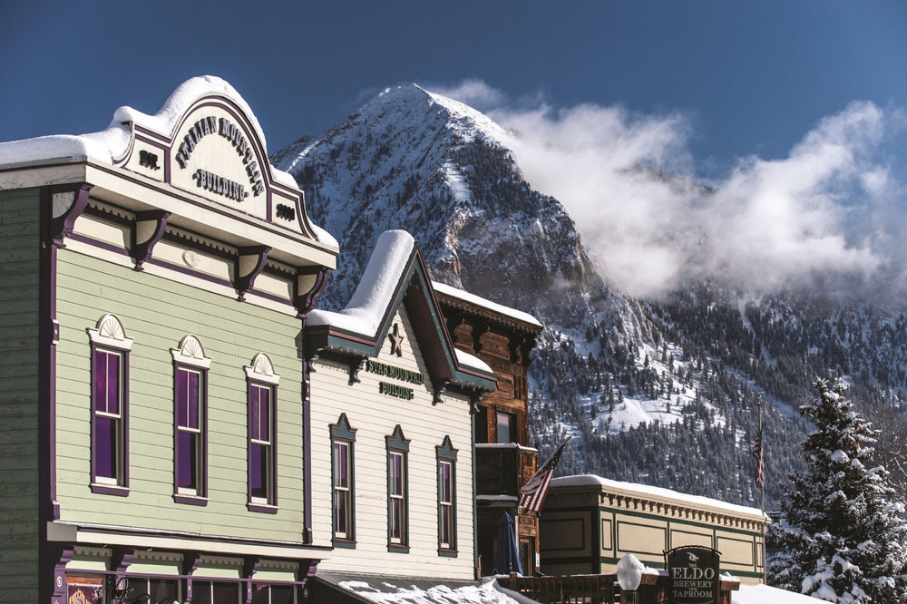 """Downtown rising"" takes on a new meaning in Crested Butte. - © Courtesy of Crested Butte Mountain Resort"