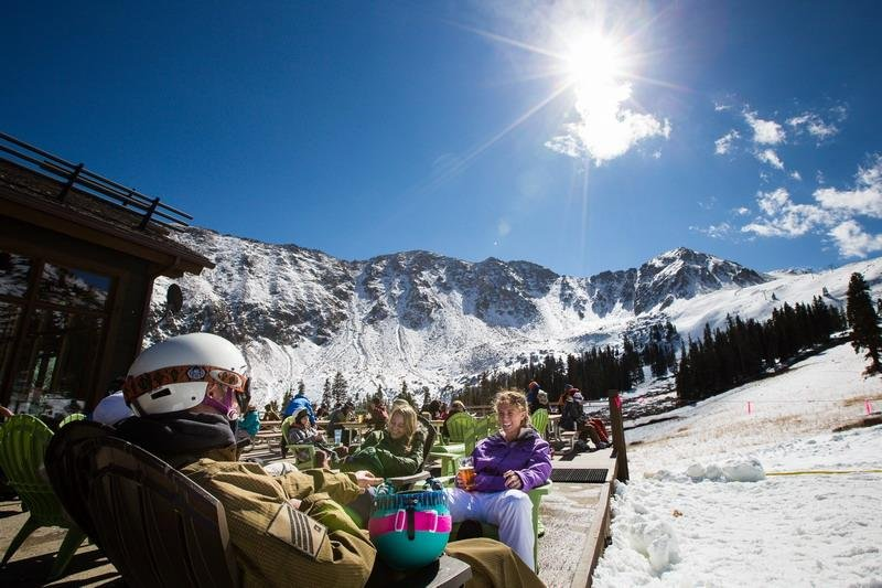 A beautiful start to the 2013 ski season - © Dave Camara/Arapahoe Basin Ski Area
