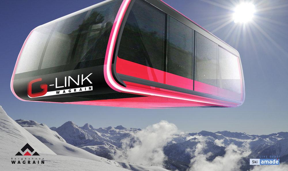 G-Link Wagrein - neues Highlight für Saison 13/14 - © Bergbahnen Wagrain
