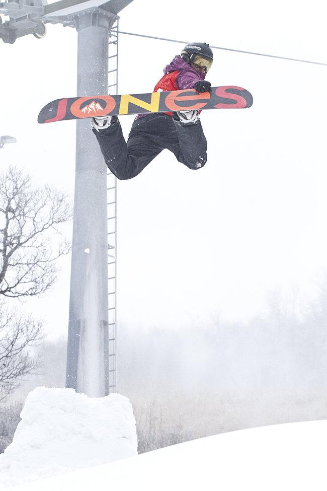 Backside air, Terje Haakonsen style! - © Kalle Hägglund