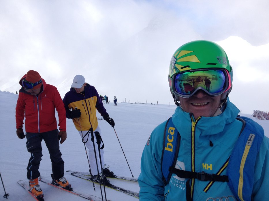 Niels Thøgersen fra Surfline, med Torben Gregersen som instruktør - © Jeppe Hansen