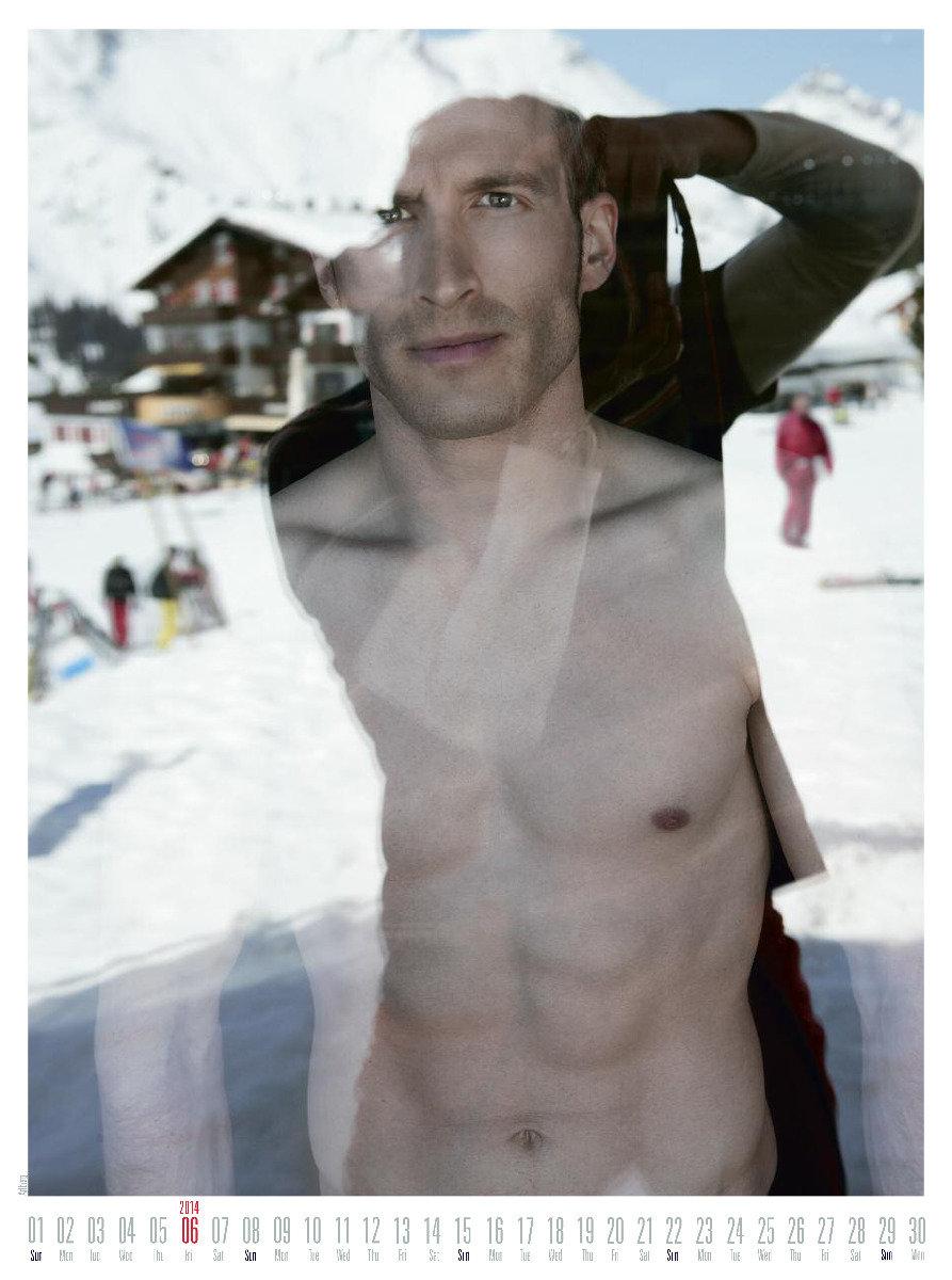 Mr June 2014 - Ski instructor calendar - © Hubertus Hohenlohe/www.skiinstructors.at