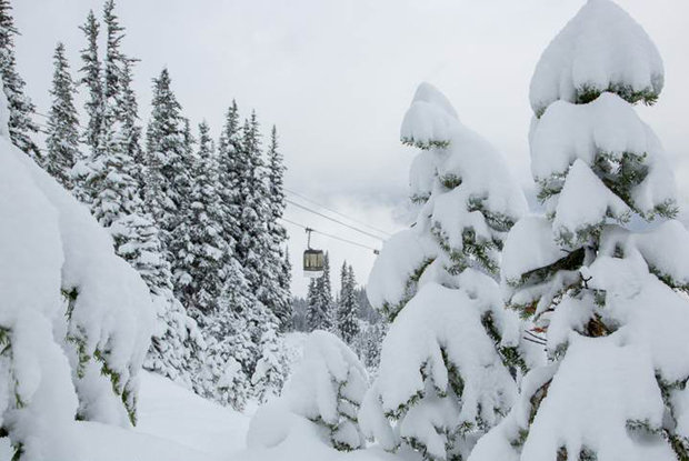 Whistler already off to a good snow start - © Mitch Winton/coastphoto.com