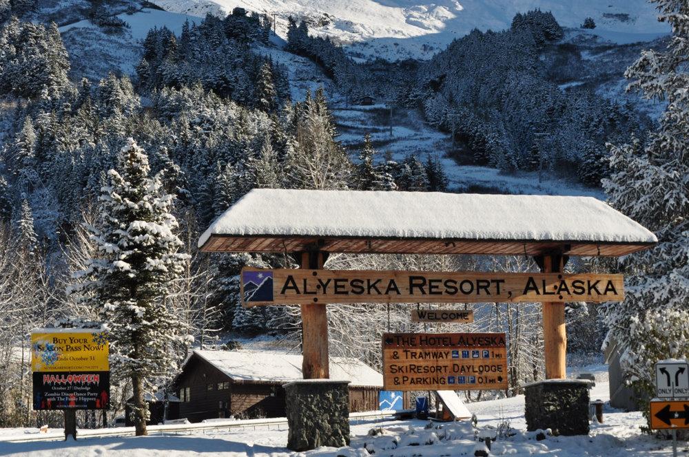 Bienvenue dans la station d'Alyeska ! - © ® Alyeska Resort