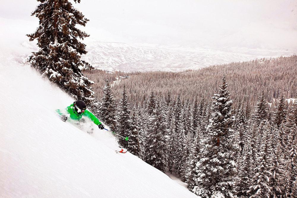 Session freeride sur les pentes d'Aspen - © ® Aspen Snowmass