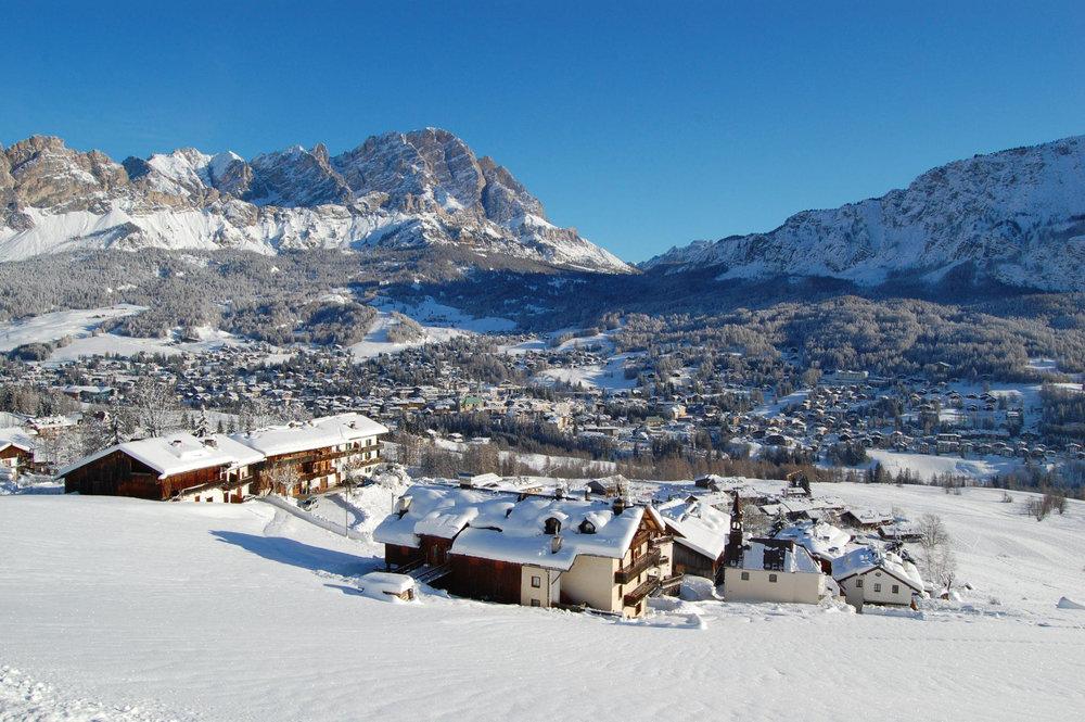 Vue sur la station de Cortina d'Ampezzo - © ® Cortina d'Ampezzo
