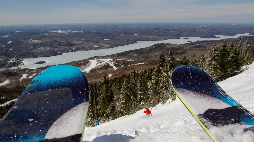Come for the snow, stay for the view. - © Mont Tremblant