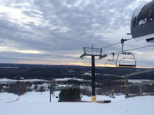 Awesome conditions for opening weekend :)