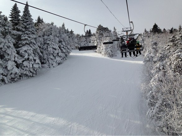 Not a bad day at killington. Fine for this early in the season