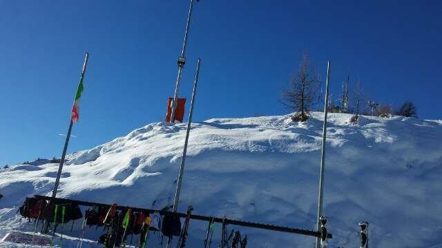 giornata stupenda neve fantastica piste perfette