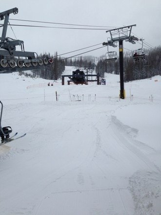 Snow was awesome and it's still snowing! Tomorrow should be epic!