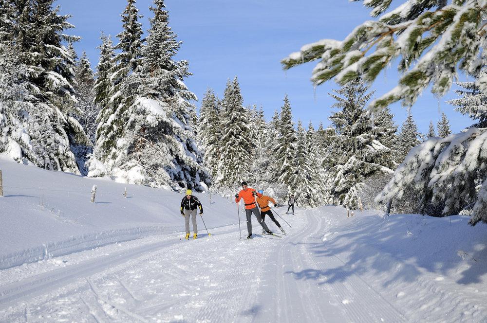 Ski nordique au Lac Blanc - © OT Vallée de Kaysersberg