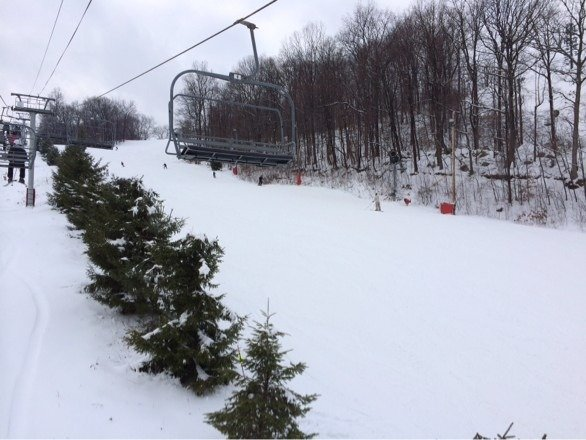 No lines! Actual powder! Great day!!