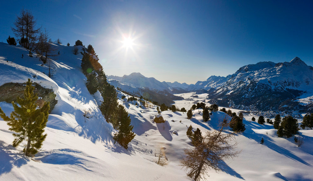 Panorama am Hahnensee - © St. Moritz
