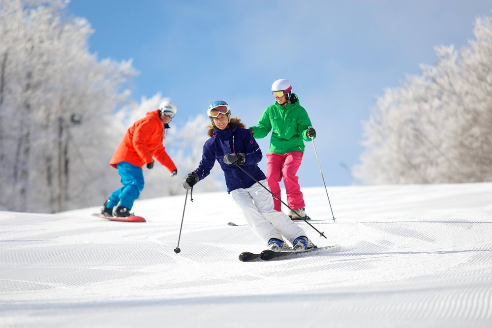 Cheap skiing and riding is the best gift anyone could ask for. - © Jiminy Peak