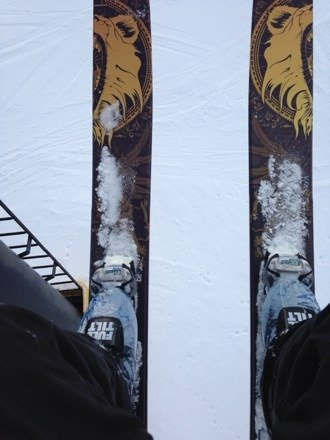 I loved it! Lots of snow and fun to ski and get out on pow skis!