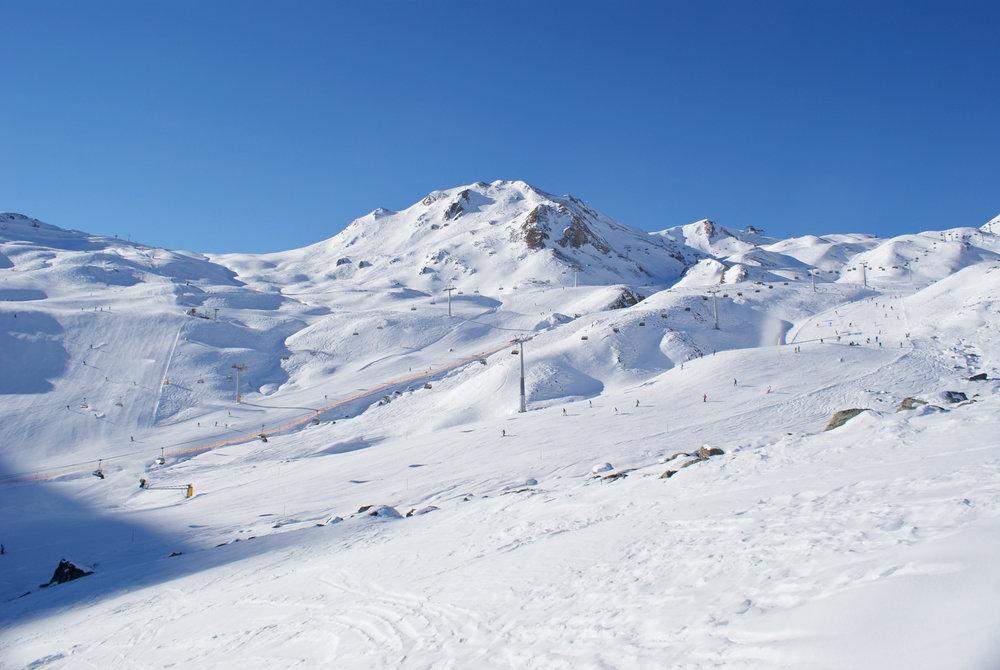 Die Alpe Trida alleine würde schon als ein tolles Skigebiet gelten - © Gernot Schweigkofler