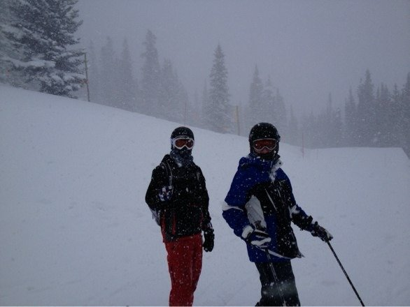 Epic powder day at Breckenridge!