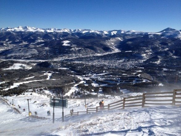 Merry Christmas from the top of the T-Bar!