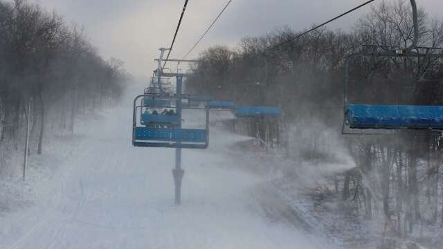 lots of snow making