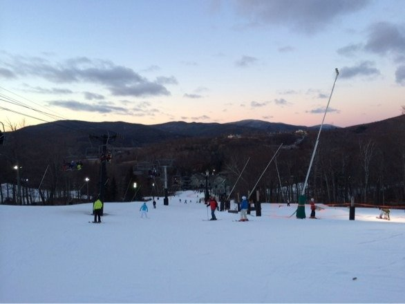 Love it !!! Little bit icy but overall great place ,nice rides, great family fun !!!! Happy new year !!!