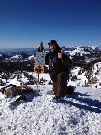 Great day yesterday despite no fresh snow. Alberta Peak is worth the hike!