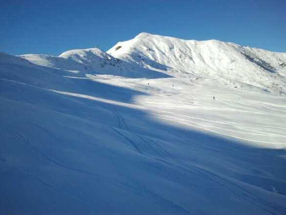 venerdí 27 dicembre; mera favolosa dopo il buon metro e mezzo delle nevicate precedenti ! fantastico il freeride bimella