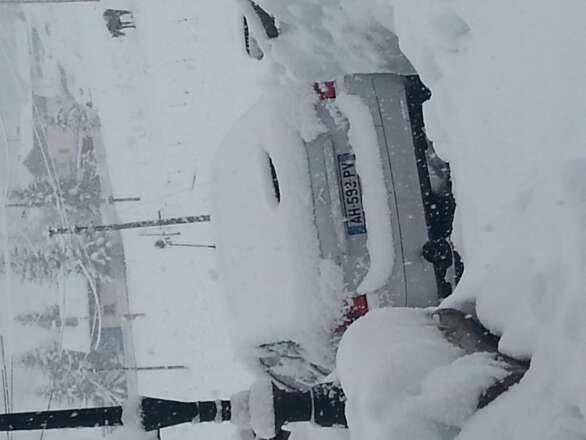 les launes chute de neige depuis le 01/01/2014