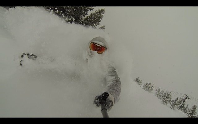 20 inches of fresh, best day I've ever had at Bridger bowl!